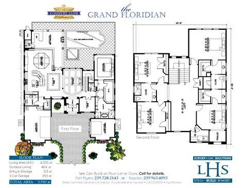 grand floridian 2 bedroom villa floor plan the grand floridian custom home builder i design