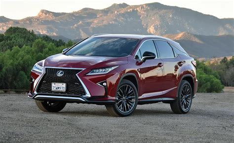 lexus rx red the spousal report 2018 lexus rx 350 f sport review ny