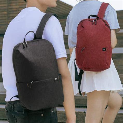 original xiaomi mi backpack  bag  colors  urban leisure sports chest pack bags men women