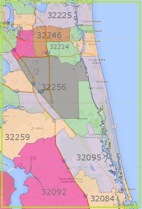 zip code map jacksonville beach fl service locations pest control in ponte vedra nocatee