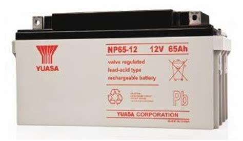 Batrey Yuasa Np 65 12 yuasa np65 12bfr np series 12v 65ah vrla battery