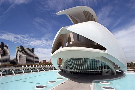 Organic Architecture Floor Plans by Auditorio De Tenerife Canary Islands Spain