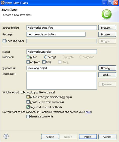 php tutorial roseindia 1日 30分 인생승리의 학습 spring 3 mvc hello world exle