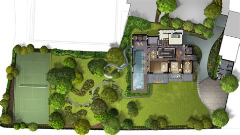 Modern House Floor Plans With Pictures 629 fitzroy farm master plan image