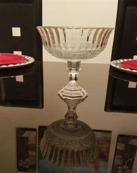 Pedestal Vases Centerpieces by Floral Glass Vase Glass Pedestal Vase Wedding Centerpiece