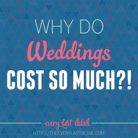 Why Does A Lamborghini Cost So Much Why Do Weddings Cost So Much Every Last Detail