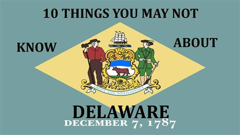 10 things you may not know about adding color to your delaware 10 facts you may not know youtube