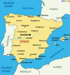 Map If Spain by Spain Map Of Cities Images