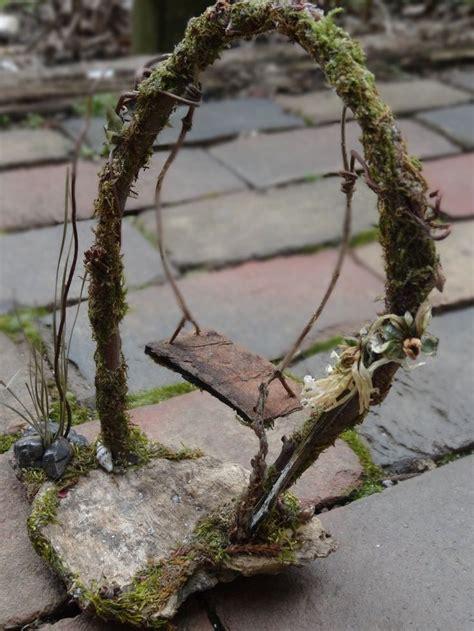 fairy swing  faerie fae garden  house dollhouse