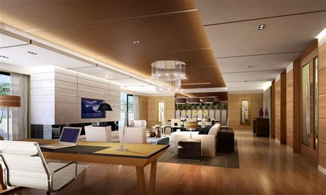 Modern Luxury Floor Plans by A Bookcase Ceo Office Interior Design Luxury Offices