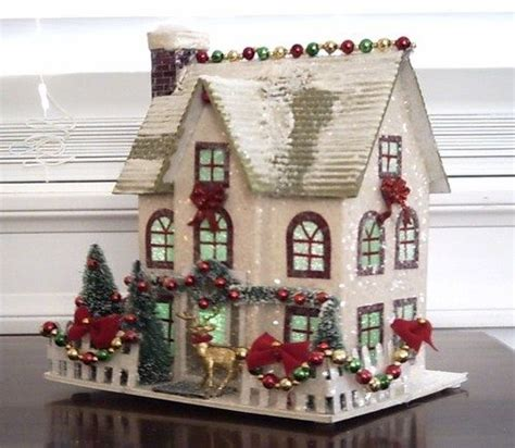 christmas village houses best 25 glitter houses ideas on pinterest putz houses christmas houses and