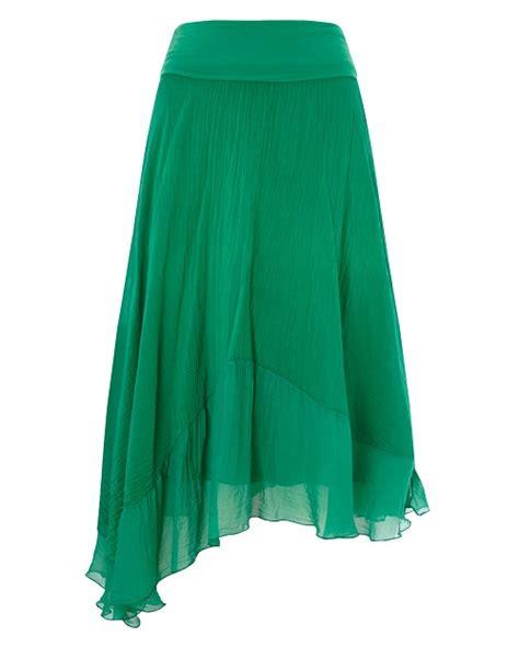 Silk Skirt silk skirt dressed up