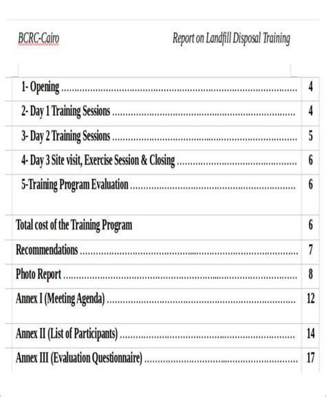 workshop report template how to write an evaluation report for a