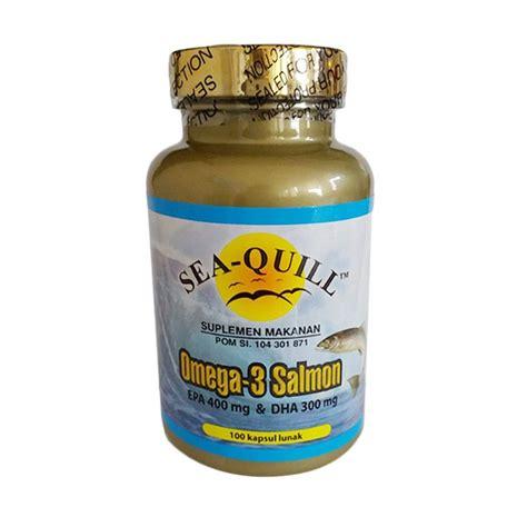 Suplemen Omega jual sea quill omega 3 salmon multivitamin suplemen