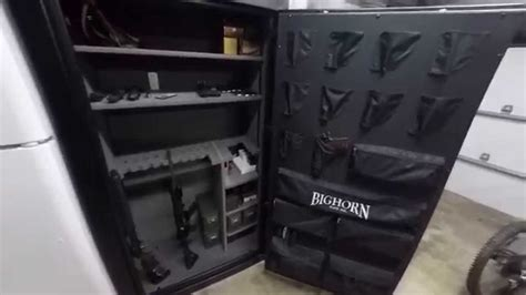 are lights safe bighorn 7144elx gun safe from costco with led lights