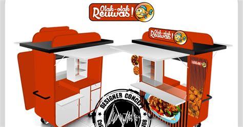 desain gerobak jajanan desain logo logo kuliner desain gerobak jasa desain