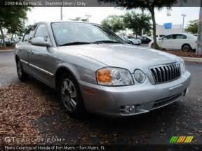 2003 Kia Optima Silver 2003 Kia Optima Se Gray Interior