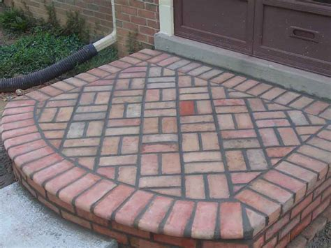 Brick Designs For Patios Brick Patios Professional Work Silver Md