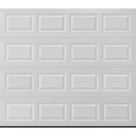 Garage Door Accents Lowes by Shop Pella Traditional 108 In X 84 In Insulated White