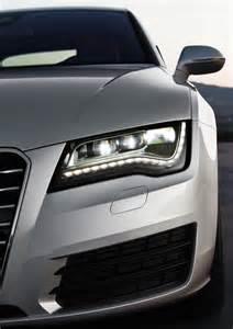 Audi A7 Led 2011 Silver Audi A7 Sportback Led Headlight