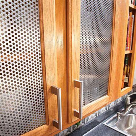 Metal inserts for kitchen cabinets kitchen ideas