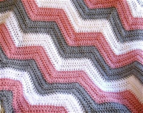 zig zag crochet pattern baby blanket pinterest ripple afghan patterns html autos weblog