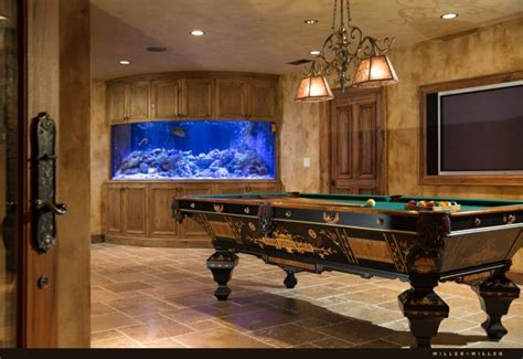 Aquarium Pool Table by Magnificent Hobson Road Luxury Custom Home For Sale By