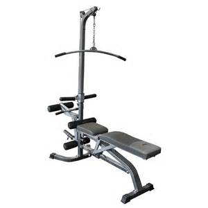 lat bench fid deluxe utility bench w lat tower no 1 fitness