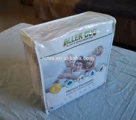 zipper bed bug mattress encasement with antimicrobial