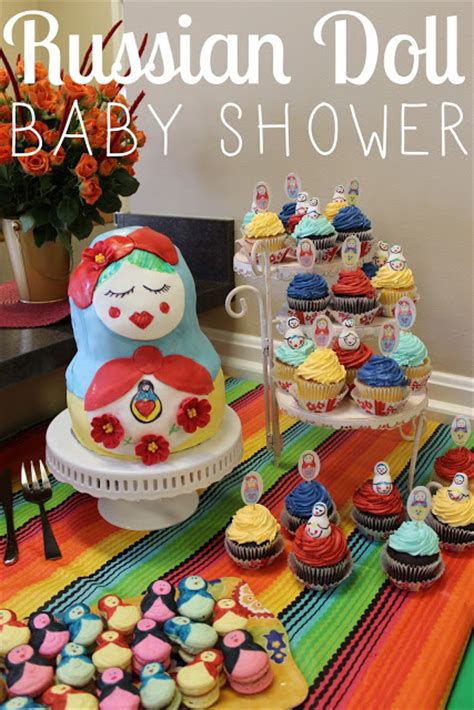 Tangled Baby Shower by Lola Tangled Russian Doll Baby Shower