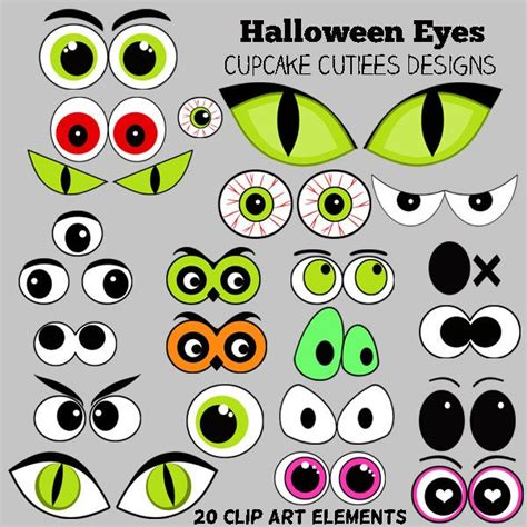 printable wiggly eyes 345 best images about silhouette cameo halloween on
