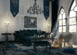 ideas for interior decorating gothic style interior design ideas