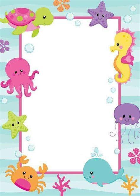 layout etiquetas word etiquetas animales del mar pinterest etiquetas