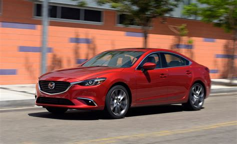 2017 mazda vehicles 2017 mazda 6 debuts with g vectoring control more luxury