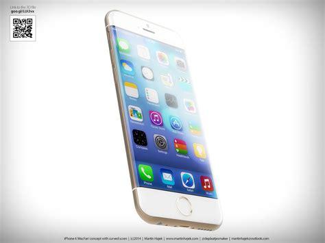 design guidelines iphone 6 iphone 6 concept design imagines a curvier apple smartphone
