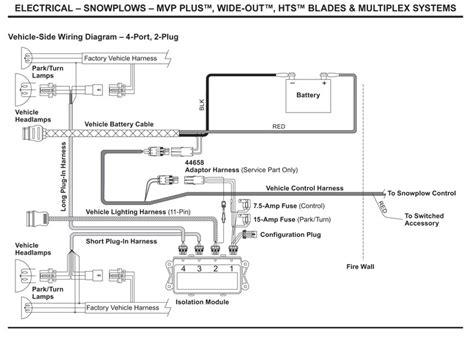 western plow controller wiring diagram western plow