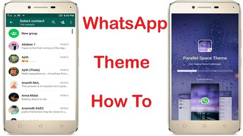 whatsapp themes root how to change whatsapp theme colour on android without