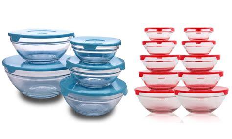 vasetti in plastica per alimenti contenitori per alimenti in vetro 5 o 10 contenitori per