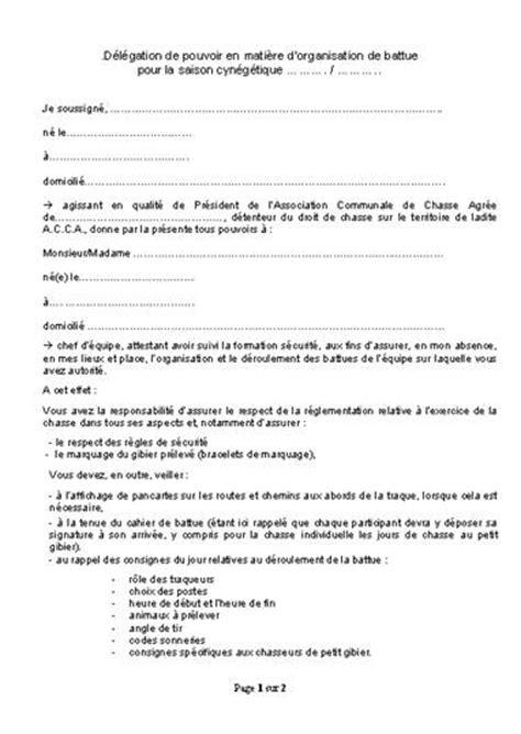 Exemple De Lettre Bon Pour Pouvoir F 233 D 233 Ration D 233 Partementale Des Chasseurs Du Doubs Gestion Des Acca