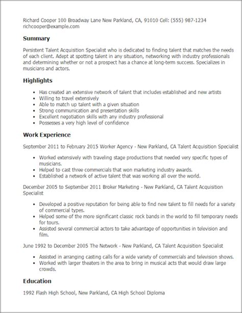 Talent Acquisition Manager Cover Letter by Talent Acquisition Specialist Cover Letter Resume Talent Acquisition Specialist Cover Letter