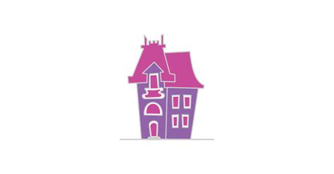 victorian house illustration vector  png files