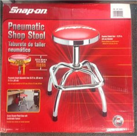 snap on tools shop stool nib snap on tool pneumatic shop stool chrome adjustable