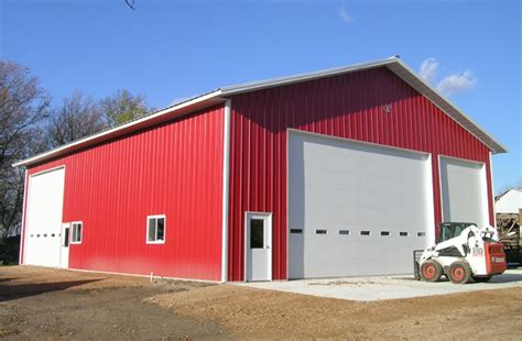 shop buildings america mn ag storage shop building lester buildings project 510953