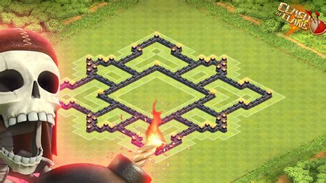 coc layout th7 with air sweeper clash of clans new town hall 7 air sweeper farming base