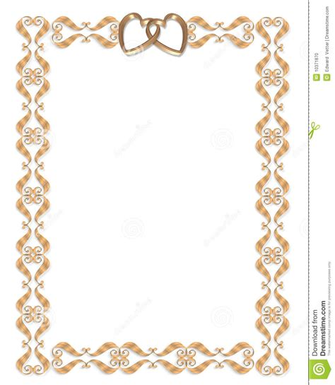 Wedding Invitation Card Border by 6 Invitation Card Frames Borders Ebookzdb