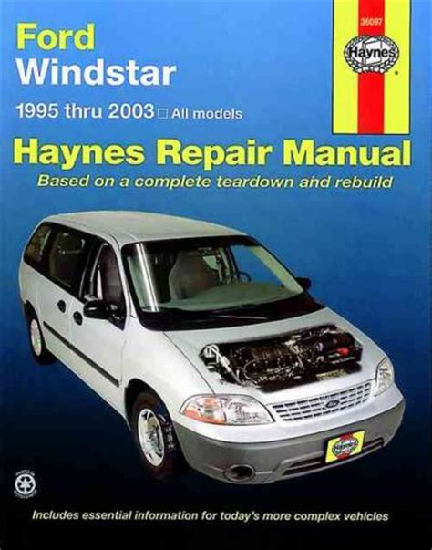 old cars and repair manuals free 2003 ford explorer electronic valve timing ford windstar 1995 2003 haynes service repair manual sagin workshop car manuals repair books