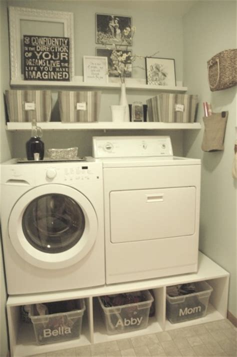 Laundry Room Storage Ideas For Small Rooms Remodelaholic 25 Ideas For Small Laundry Spaces