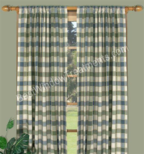 plaid curtain panels plaid kitchen curtains curtains blinds