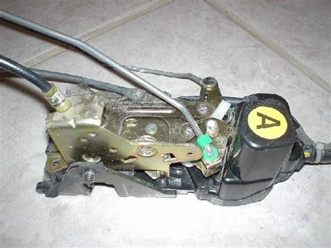 acura legend door lock actuator diy fix