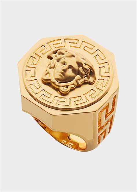 I Ring Keropy 1 versace greca and medusa ring for uk store